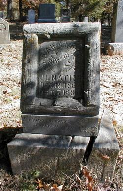 Sarah A. <i>Norman</i> Nation