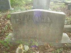 Clara A <i>Reeves</i> Brown