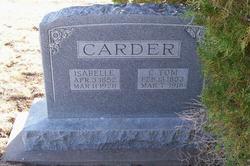 Isabelle <i>Tyree</i> Carder