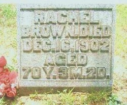 Rachel <i>Yerian</i> Brown
