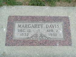 Margaret E <i>McDonald</i> Davis