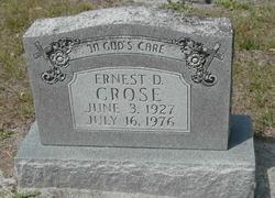 Ernest D. Crose