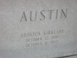 Arostus Kirkland Austin