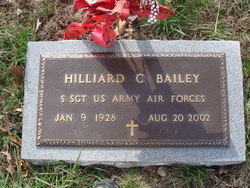 Hilliard C Bailey