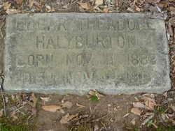 Edgar Theodore Halyburton