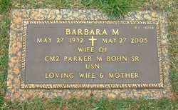 Barbara M <i>Shinn</i> Bohn