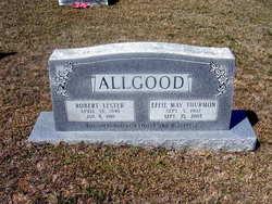 Effie May <i>Thurmon</i> Allgood