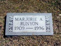 Marjorie A. <i>Allgood</i> Runyon