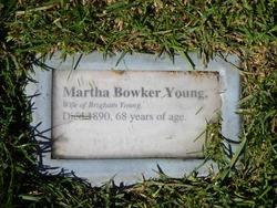 Martha <i>Bowker</i> Young