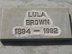 Lula Lulu <i>Irwin</i> Brown