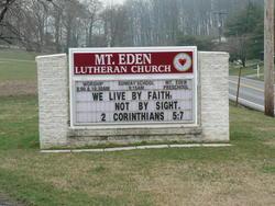 Mount Eden Lutheran Cemetery