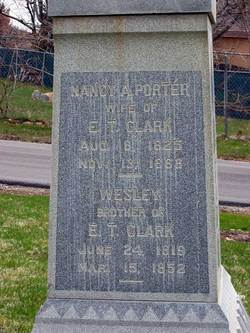 Nancy Areta <i>Porter</i> Clark
