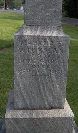 Martha Wickman