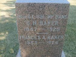 Frances A. <i>Terbush</i> Baker