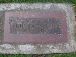Effie May Bolton <i>Cole</i> Close