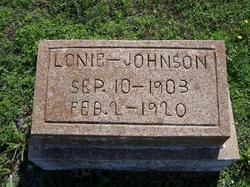 William Alonzo Lonie Johnson