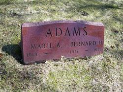 Marie A. <i>Bueche</i> Adams