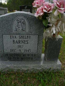 Eva <i>Shelby</i> Barnes