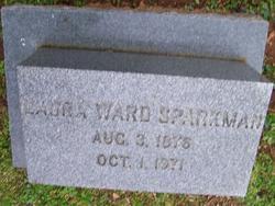 Laura <i>Ward</i> Sparkman