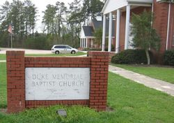 Duke Memorial Baptist Church Cemetery