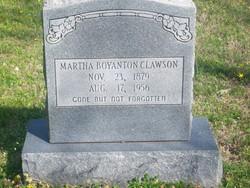 Martha Elizabeth <i>Winton</i> Clawson