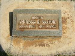 Frances B. <i>Hicks</i> Ellison