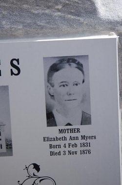 Elizabeth Ann <i>Mayers</i> Glines