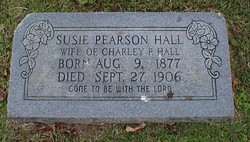 Susan L Susie <i>(Pearson)</i> Hall