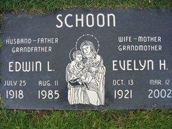 Evelyn H <i>Porter</i> Schoon