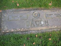Florence M <i>Stratch</i> Bacon