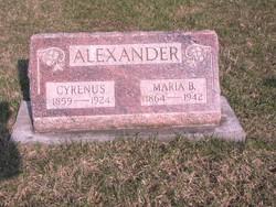 Maria B. Alexander