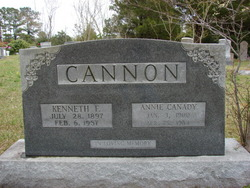 Annie <i>Canady</i> Cannon