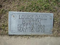 Louise <i>David</i> Burton
