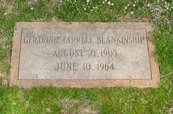 Gertrude Edna <i>Farrell</i> Blankinship