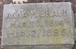 Anna Maria <i>Eberhardt</i> Braun