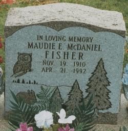 Maudie Elizabeth <i>McDaniel</i> Fisher