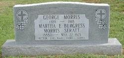 Martha E <i>Burgres Morris</i> Seratt