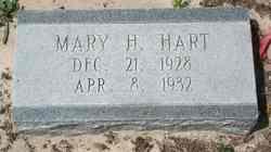 Mary H Hart
