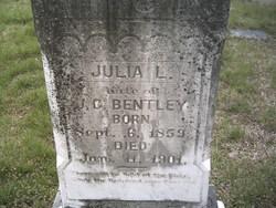Julia Lane <i>Brown</i> Bentley