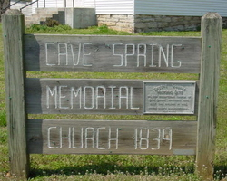 Cave Spring Memorial Church Cemetery