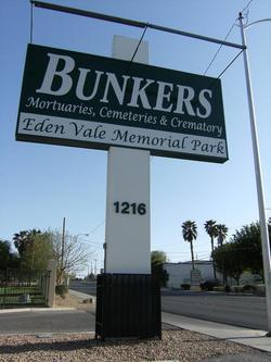 Bunkers Eden Vale Cemetery