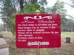 Rose Garden Cemetery