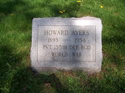 Pvt Howard Ayers