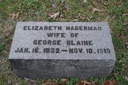 Elizabeth <i>Hagerman</i> Blaine