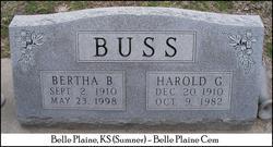 Bertha <i>Bloesser</i> Buss