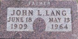John L Lang