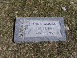 Anna <i>Tietz</i> Amman