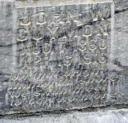 John Wesley Guymon