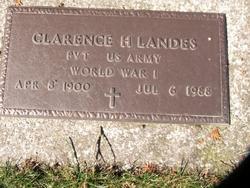 Clarence H. Landes