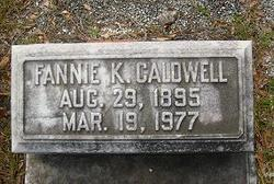 Fannie <i>Keith</i> Caldwell